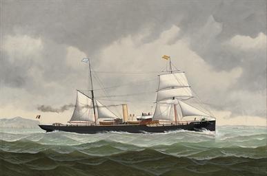 The Belgian steamer Amélie bou