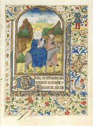FLIGHT INTO EGYPT, large minia