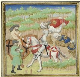 LANCELOT WITH THE SLAIN GIANTS