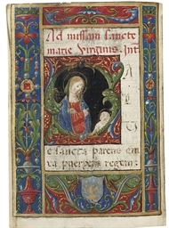 PRAYERBOOK, in Latin and Itali