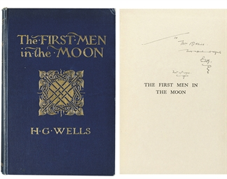 WELLS, H.G. The First Men in t