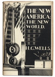 WELLS, H.G. The New America: T