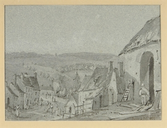 View of Ivry; and four compani