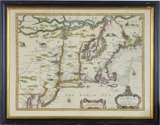 [A map of New England and New