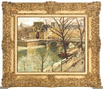 View of the Ile de la Cité, Paris