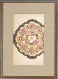 Design for ceramic plates: Nin