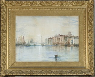 View of Venice, with the Palaz
