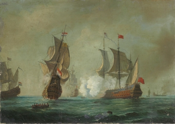 An Anglo-Dutch engagement; and