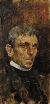 Portrait of a clergyman