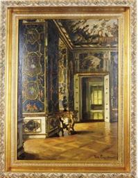 A palatial interior
