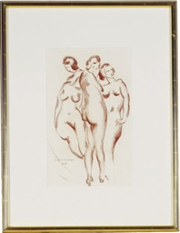 The Three Graces; and a compan