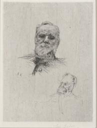 Victor Hugo, de face (Delteil