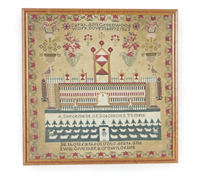 AN AMERICAN NEEDLEWORK SAMPLER