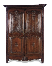 A FRENCH PROVINCIAL OAK AND CH
