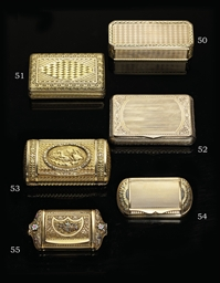 AN AUSTRIAN GOLD SNUFF-BOX