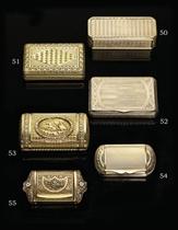 A SWISS THREE-COLOUR GOLD SNUFF-BOX