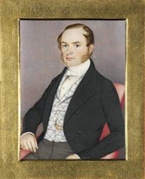 James Samuel Hartley, in black
