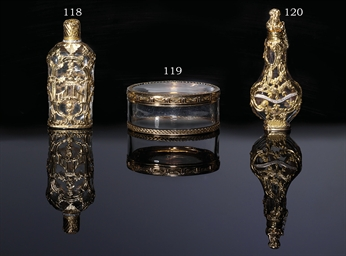 A LOUIS XV GOLD-MOUNTED ROCK-C