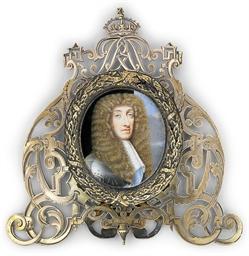 James II (1633-1701), in gilt-
