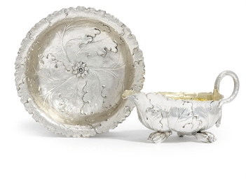 A WILLIAM IV SILVER CREAM-BOAT