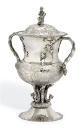 A CHINESE EXPORT SILVER CUP AN