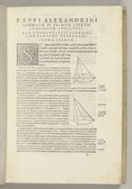 APOLLONIUS Pergaeus (ca 260-ca 200 BC) Conicorum libri quatt