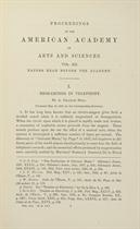 BELL, Alexander Graham (1847-1922)