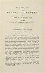 BELL, Alexander Graham (1847-1