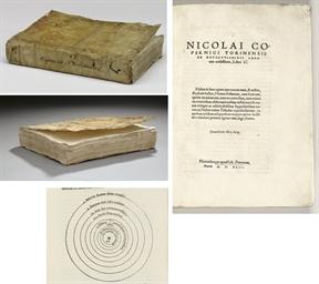 COPERNICUS, Nicolaus (1473-1543). De revolutionibus orbium coelestium, libri V. Nuremberg: Johann Petreius, 1543.