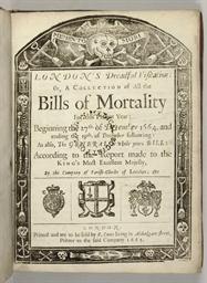 [GRAUNT, John (1620-1674), att