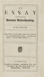 [LOCKE, John (1632-1704)]. An