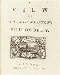 [NEWTON, Sir Isaac]. -- [PEMBE