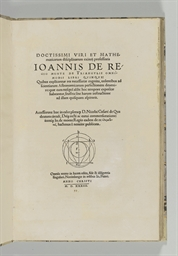 REGIOMONTANUS (Johann MÜLLER 1