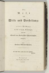 SCHOPENHAUER, Arthur (1788-186