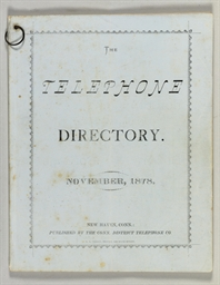 The Telephone Directory. [Volu