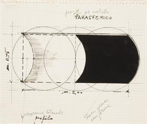 Progetto per metallo parasferi