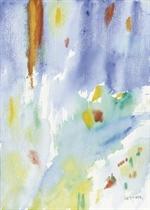 Lotto di 3 opere: a) Senza titolo firmato e datato Corpora, Warcheuser 1979 (in basso a destra) acquarello su carta cm 50x65 Eseguito nel 1979 b) Cielo lontano firmato Corpora (in basso a destra); titolo e firma Cielo lontano; Antonio Corpora (sul retro) acquarello su carta cm 51x36 Eseguito nel 1987 c. c) L'Elba-Amburgo firma e titolo Corpora, L'Elba-Amburgo (in basso a destra) acquarello su carta cm 56x75,5 Eseguito nel 1982 c. L'autenticità delle opere è stata confermata verbalmente dagli Archivi Corpora, Roma, a cura di Giovanni Di Summa (3)