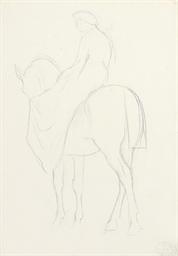 Amazone à cheval