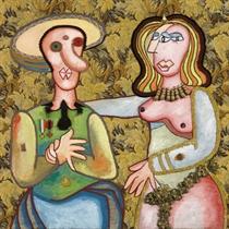 I coniugi Arnolfini (La coppia)