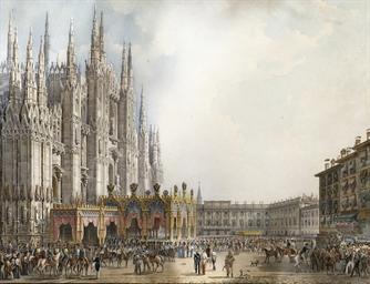 Facciata del Duomo, tratta da
