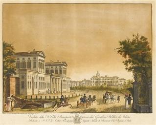 Veduta della R. Villa Bonapart