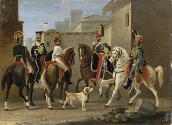 Soldati austriaci al Castello