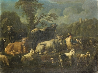 Pastore con armenti