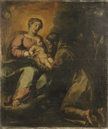 La Madonna offre il Bambino a