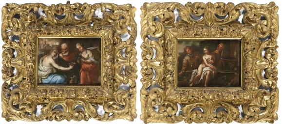 Lot e le figlie; e Susanna e i