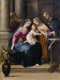 Sposalizio di Santa Caterina,