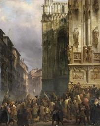Milano, 18 marzo 1848, l'inizi
