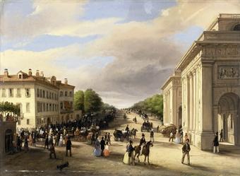 Carlo canella verona 1800 1879 porta venezia con - British institute milano porta venezia ...