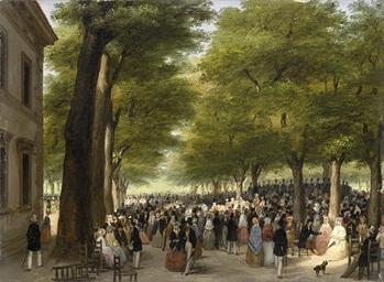 Festa nei giardini di Porta Ve