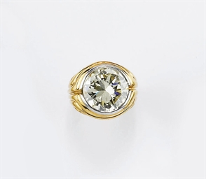 ANELLO IN ORO CON BRILLANTE, M